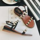 Pearl Wedge Sandals