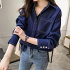Contrast Stitched Shirt