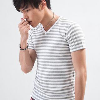 Striped Short-sleeve T-shirt
