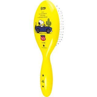 Snoopy Hair Brush (yellow) One Size