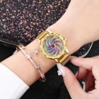 Iridescent Bracelet Watch