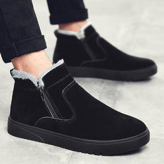 Zip High Top Sneakers