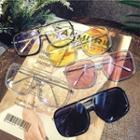 Retro Plastic Square Sunglasses