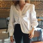 Twisted Blouse