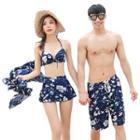 Couple Matching Bikini Set / Beach Shorts