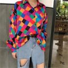 Multicolor Checker Shirt Multicolor - One Size