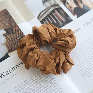 Fabric Hair Tie Brown - One Size