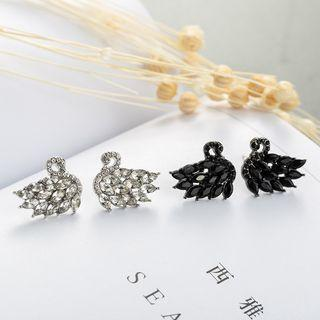 Rhinestone Faux Crystal Earring