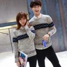 Patterned Couple Matching Sweater