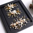 Embellished Butterfly Bridal Headpiece Set