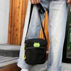 Frog Canvas Crossbody Bag