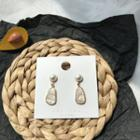 Faux Pearl Shell Dangle Earring 1 Pair - Earrings - One Size