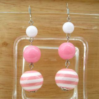 Pink Sailing Earrings