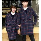 Couple Matching Plaid Coat