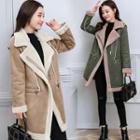Fleece Trim Coat