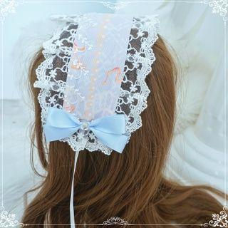 Lace Headband / Ribbon Hair Clip / Hair Tie (various Designs)