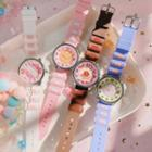 Plastic Strap Printed Watch