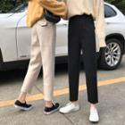 Woolen Straight-leg Pants