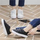 Velcro Genuine-leather Sneakers