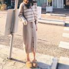 Striped Sweater / Long Sweater