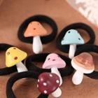 Mushroom-accent Hair Tie