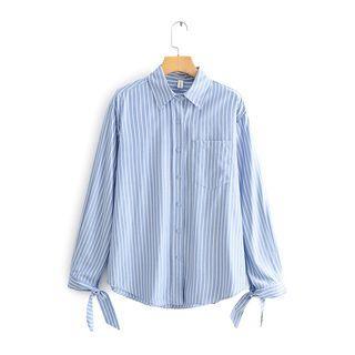Striped Shirt 9402 - Blue & White - One Size