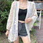 See-through Lace Shirt