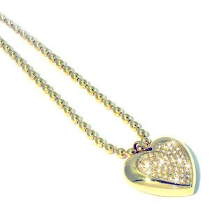 Glint Of Heart Necklace