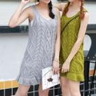 Cable Knit Tank Dress