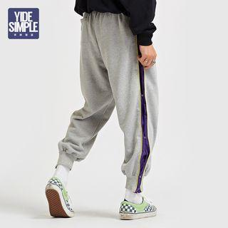 Button-side Sweatpants
