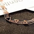 Metal-accent Bracelet