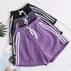 Glitter Striped Shorts