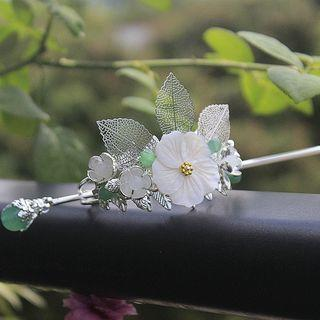 Retro Floral Hair Pin / Tiara