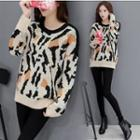 Printed Thick Sweater