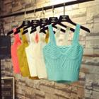 Crop Cable-knit Top