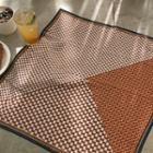 Patterned Scarf Brick - One Size