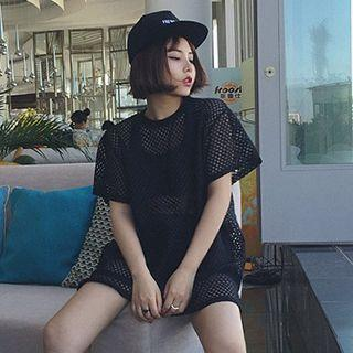 Short-sleeve Mesh T-shirt