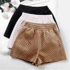 Quilted Shorts / Set Of 2