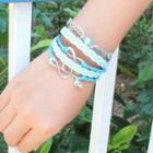 Braided Multi-strand Bracelet