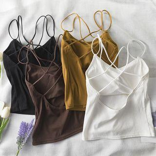 Open-back Wireless Camisole Top