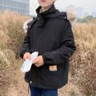 Shearling-collar Jacket