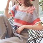 Stripd Knit Top