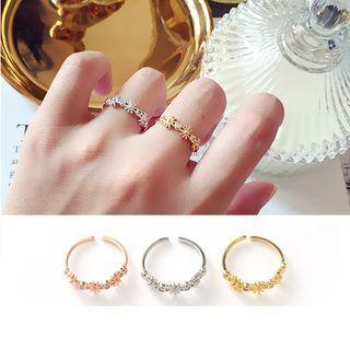 Sun Open Ring