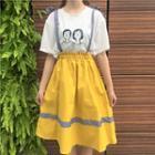 Two-way Suspender Skirt