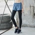 Inset Sport Shorts Leggings