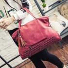 Tasseled Carryall Bag