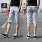 Color-block Sweat Shorts