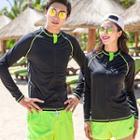 Couple Matching Rashguard / Beach Shorts
