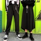 A-line Midi Skirt / Jogger Pants