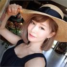Bow Straw Boater Sun Hat